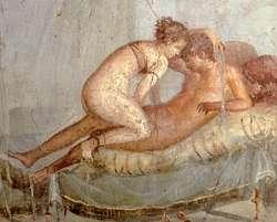 Гомесексуализм в древнем риме